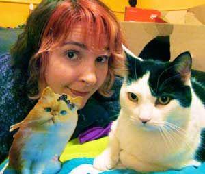 Chiedi a una donna gatto: come faccio a farmi vedere il mio vecchio gatto con il mio nuovo gatto?