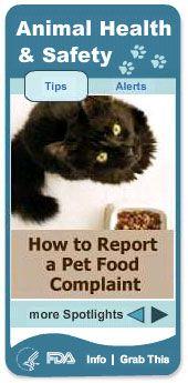 Fda lancia il nuovo widget per la salute e la sicurezza degli animali domestici